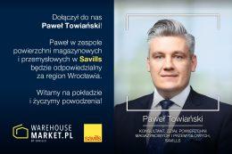 Paweł Towiański Savills WarehouseMarket